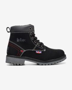 Lee Cooper Členková obuv detská Čierna