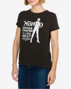 Norton Vixen Tričko Čierna