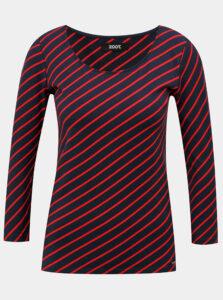 Tmavomodrá dámske pruhované tričko ZOOT Karin