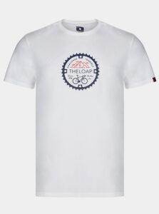 Biele pánske tričko  LOAP Alger