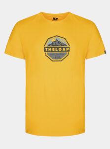 Žlté pánske tričko LOAP Altair