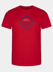 Červené pánske tričko  LOAP Alger
