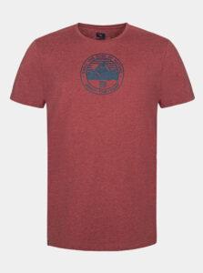 Červené pánske tričko LOAP Bede