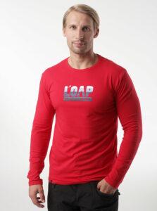 Červené pánske tričko LOAP Albi