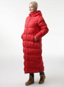 Červený dámsky kabát LOAP Tamira