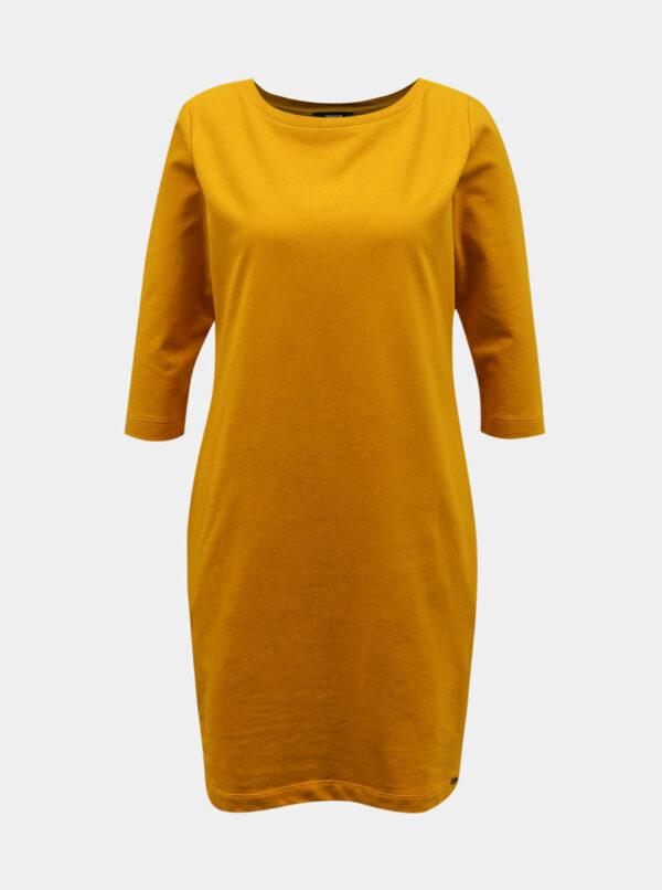 Žlté šaty s vreckami ZOOT Lola 2