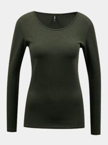 Kaki basic tričko ONLY