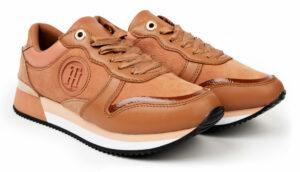 Tommy Hilfiger štýlové tenisky na platforme Active Feminine City Sneaker Copper Canyon