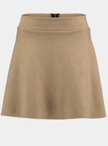 Béžová sukňa Hailys
