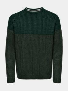 Zelený sveter ONLY & SONS Kelvin