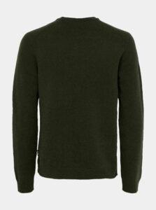 Zelený vlnený sveter ONLY & SONS Howard