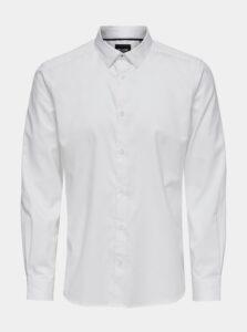 Biela košeľa ONLY & SONS Cafu