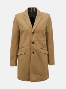 Béžový kabát ONLY & SONS Julian