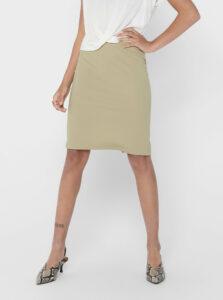 Béžová púzdrová sukňa ONLY Tina