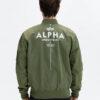 Alpha Industries Glow In The Dark Bunda Zelená