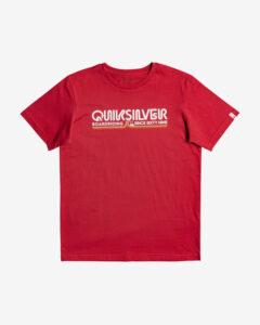 Quiksilver Like Gold Triko detské Červená