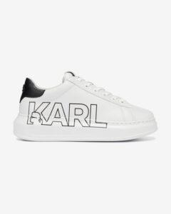 Karl Lagerfeld Kapri Karl Outline Logo Tenisky Biela