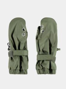 Zelené detské rukavice name it