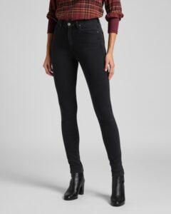 Lee Ivy Jeans Čierna