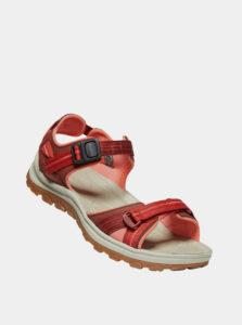Červené dámske sandále Keen