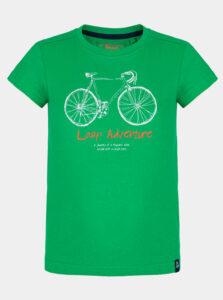 Zelené detské tričko s potlačou LOAP