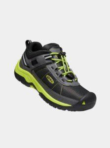 Čierne detské topánky Keen