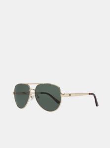 Pánske slnečné okuliare v zlatej farbe Guess