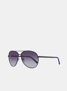 Modro-čierne pánske slnečné okuliare Guess