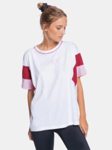 Biele dámske tričko Roxy